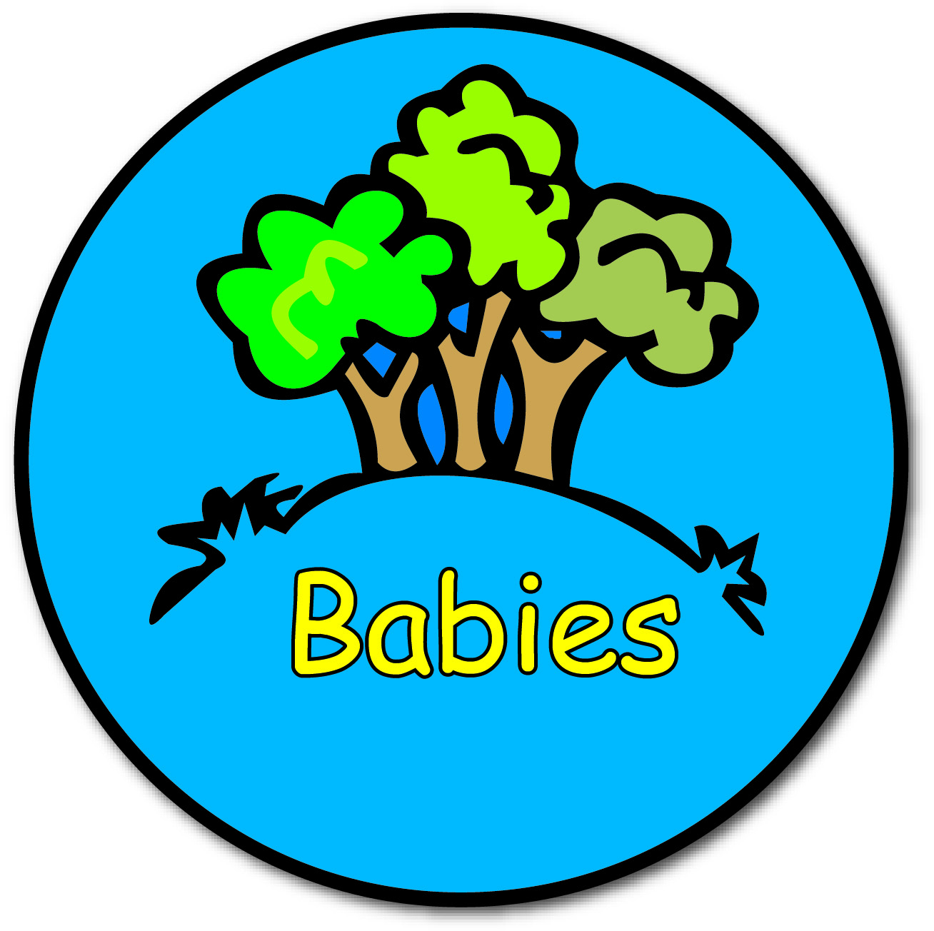 Logo rooms babies